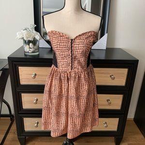 Dresses & Skirts - Peachy Pink Printed Dress
